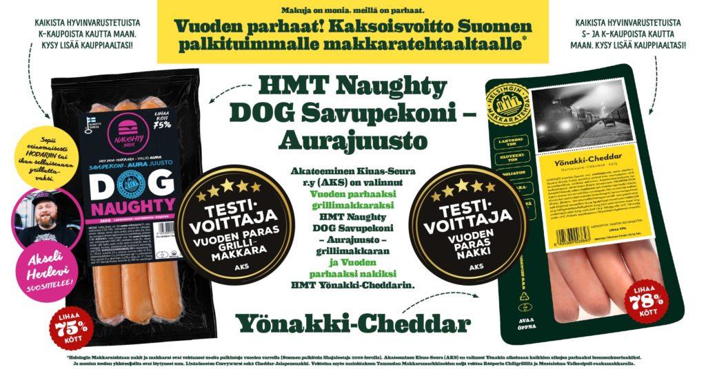 Testivoittaja Helsingin Makkaratehdas